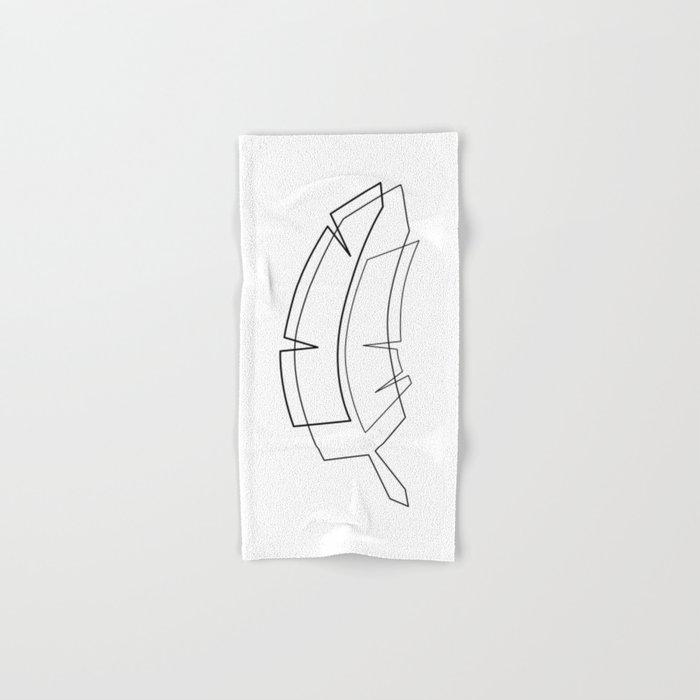 Banana Tree Hand & Bath Towel