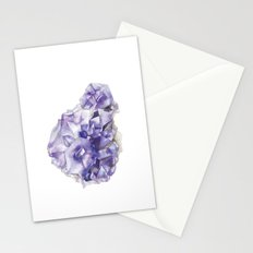 Amethyst Cluster Stationery Cards
