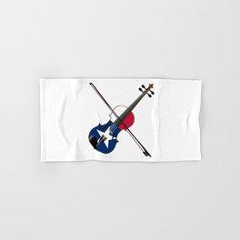 Texas Fiddle Hand & Bath Towel