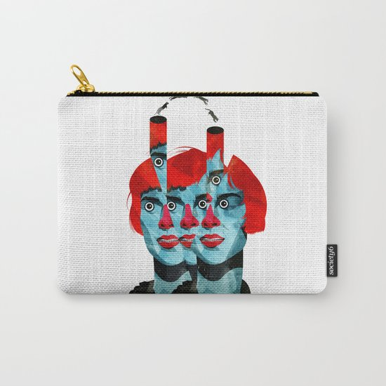 The cats in my head Carry-All Pouch