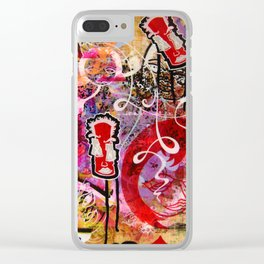 An Expose Of Uncalculated Whimsy Clear iPhone Case