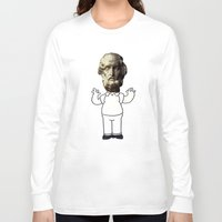 simpson Long Sleeve T-shirts featuring HOMER simpson by sharon