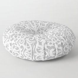 Floral Abstract Damasks G17 Floor Pillow