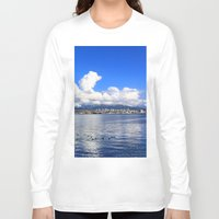 vancouver Long Sleeve T-shirts featuring North Vancouver by Chris Root