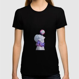 Woman Crystals Surreal Collage T-shirt