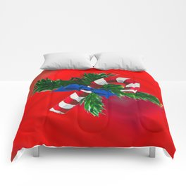 Christmas Candy Cane Comforters