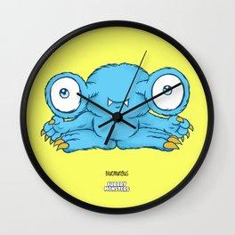 Bluemungus Wall Clock