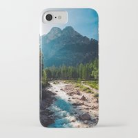 river iPhone & iPod Cases featuring River by Tomas Hudolin