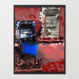 unsafe deposit Canvas Print