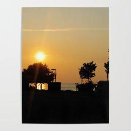 Newport News Sunset Poster