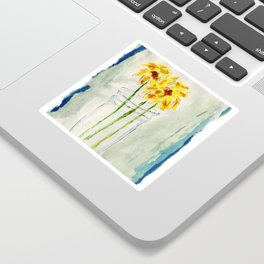 Still Flowers Sticker