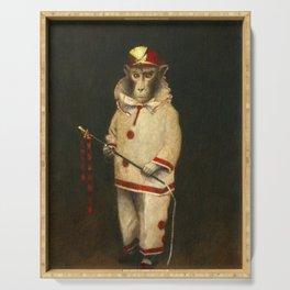 Vintage Magic Monkey Serving Tray