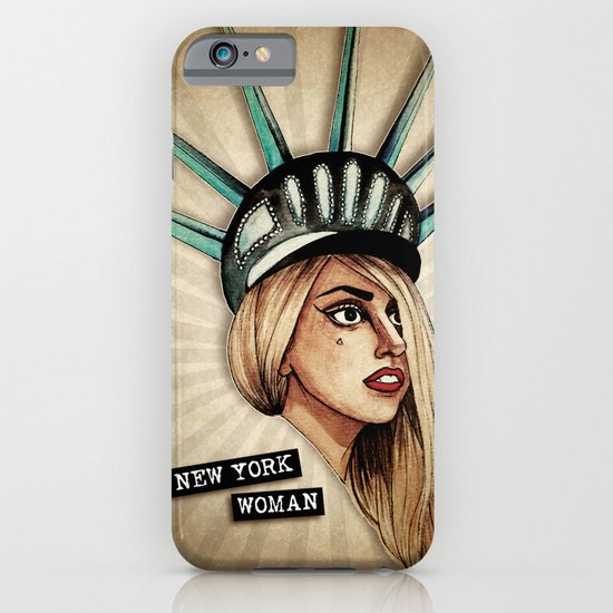 New York Woman iPhone & iPod Case