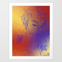 primary colours art prints society6