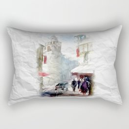 Galata Tower İstanbul Rectangular Pillow