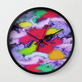 Unpreditale wave Wall Clock