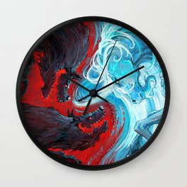 Equal Power Wall Clock