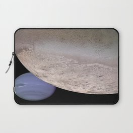 Neptune and Moon Laptop Sleeve