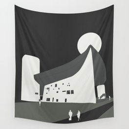 Le Corbusier - Chapelle Notre-Dame du Haut de Ronchamp Wall Tapestry