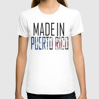 puerto rico T-shirts featuring Made In Puerto Rico by VirgoSpice