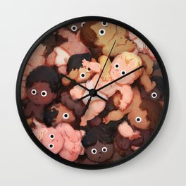 Baby Ball Wall Clock