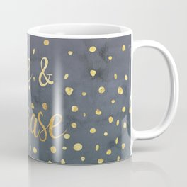 Rise and Release Yoga Meditation Coffee Mug