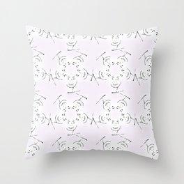 """series """"rostidade em mandala"""" - lady Throw Pillow"""