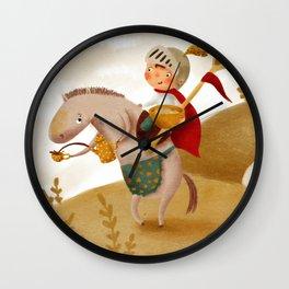 Cookie Knight Wall Clock