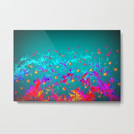 Faerie Garden Vignette | Flower | Flowers | Metal Print