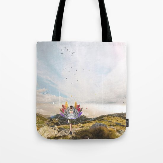 A LITTLE BIT OF MIMETISM Tote Bag