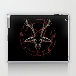 Reindeer Pentagram - Satanic Christmas Laptop & iPad Skin