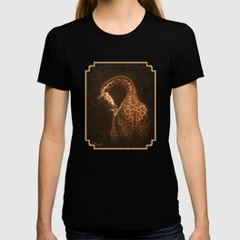 Reticulated Giraffe Mother and Baby T-shirt