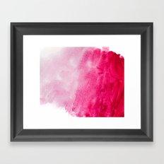 Hopeless, Romantic And Pink #decor #buyart #society6 #art #prints Framed Art Print