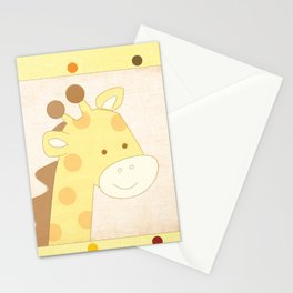 Giraffe Jungle Series Print Stationery Cards