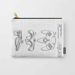 64 Controller Patent Carry-All Pouch