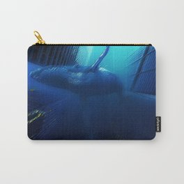 'Sea Change' Environmental Magical Realism 'Save our Oceans' Portrait Carry-All Pouch