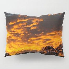 Red sky Pillow Sham