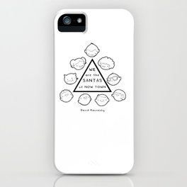Santas of Now Town iPhone Case