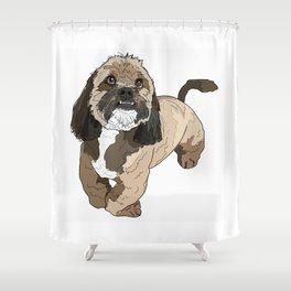 Lhasa Apso Shower Curtain