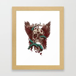 Ooh, I'm so Metal Framed Art Print