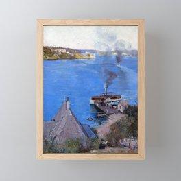 Arthur Streeton From McMahon's Point - Fare One Penny Framed Mini Art Print