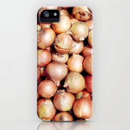 Onions, Onions, Onions! iPhone Case
