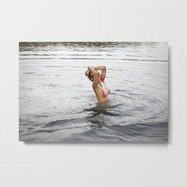 Swimming Season Metal Print