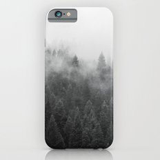 Black and White Mist iPhone 6s Slim Case
