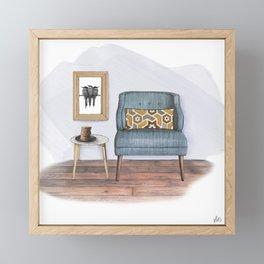 Comforts & Cookies Framed Mini Art Print
