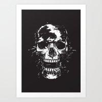 scream Art Prints featuring Scream by Balazs Solti