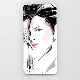 Fashion Painting #7 iPhone Case
