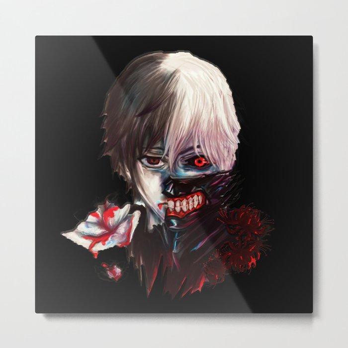 Kaneki Ken TokyoGhoul Perfect1 Metal Print