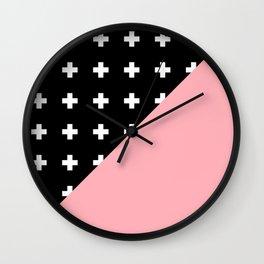 Memphis pattern 79 Wall Clock