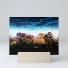 Michigan Above Mini Art Print
